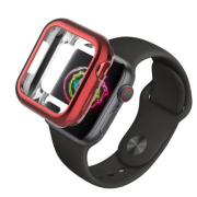 USAMS BH485 TPU Full Protective Pouzdro pro Apple Watch 40mm Red