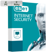 ESET Internet Security 2018 4PC na 2r