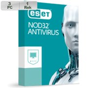 ESET NOD32 Antivirus 2018 3PC na 1r