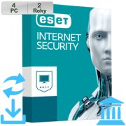 ESET Internet Security 2018 GOV 4PC na 2r Aktu