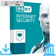 ESET Internet Security 2018 GOV 4PC na 1r