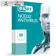 ESET NOD32 Antivirus 2019 4PC na 2r