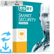 ESET Smart Security Premium 2019 2PC na 1r Aktual