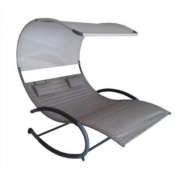 HANSCRAFT Vivere - Double Chaise Rocker Sienna