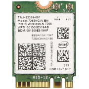INTEL Dual Band Wireless-AC 7265, 2x2 AC+BT M.2