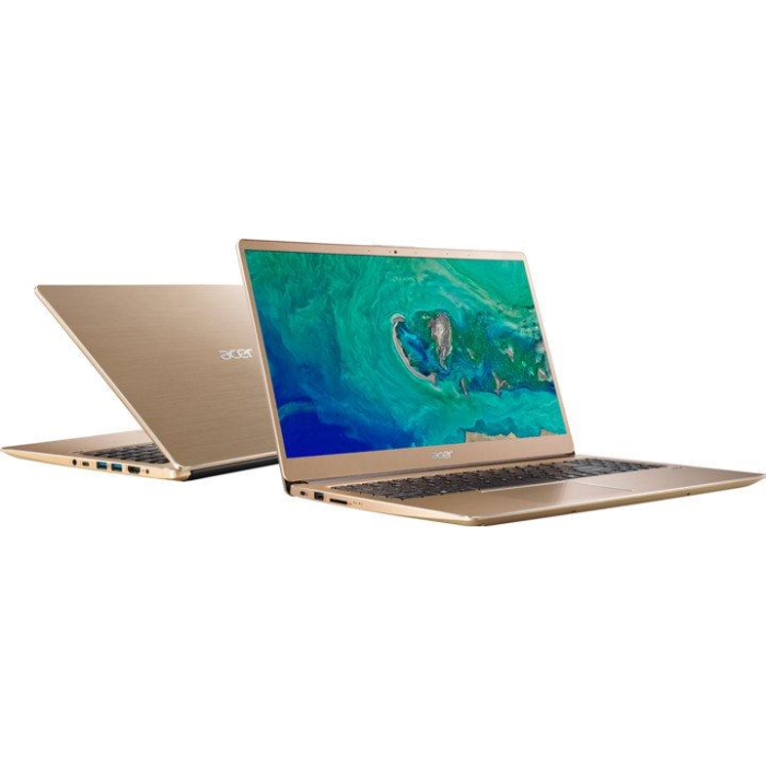 "ACER Swift 3 15,6"" FHD i3-8130U/4/256/int/W10 gld"