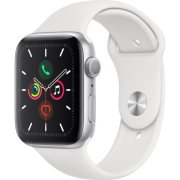 APPLE Watch SERIES 5 GPS Si ALU Case Wh Sp 44mm