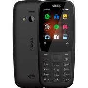 NOKIA 220, DS, 4G, Black (16QUEB01A02)