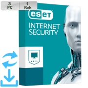 ESET Internet Security 2020 3PC na 1r Aktual