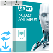 ESET NOD32 Antivirus 2020 3PC na 1r Aktual
