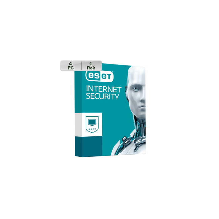ESET Internet Security 2020 4PC na 1r