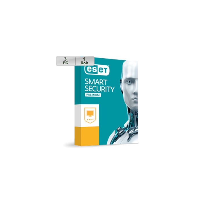 ESET Smart Security Premium 2020 3PC na 1r