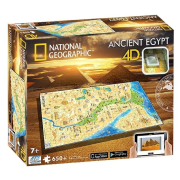 4D Puzzle National Geographic Staroveký Egypt