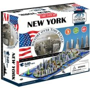 4D Puzzle Time panorama New York